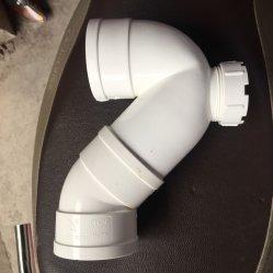 Inspección posterior p-TRAP/PVC accesorios de tubería de desagüe/PVC/Accesorios/codo Inspeciton/acoplador en T/Wye
