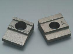 Freios da rampa de sistemas de fixação da placa de retenção