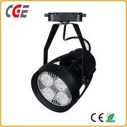 Светодиодные индикаторы гусеницы белый/черный Светодиодный прожектор PAR30 привели контакт лампы потолочного освещения початков контакт фонари