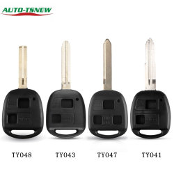 Jouet41/Toy43/Toy47/Toy48 Toyota Lexus Remote Shell de cas porte-clés de voiture