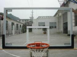 "Срок службы 42"" X 72"" Clear View 12мм закаленного стекла баскетбол Backboards"