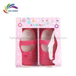 Emballage de cadeau Emballage de papier personnalisé pour les chaussons bébé