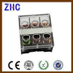 Rail DIN série Zcin combiné en plastique de type bloc de jonction