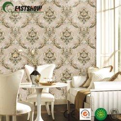 Neues Wand-Papier mit Luxuxdamaskus-Muster für Hauptdekoration