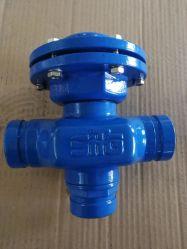 Backwash-klep 3-wegklep voor filter