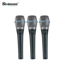 Berufshandmikrofon-Beta87A verdrahtetes Kondensator Supercardiod vernehmbares Mikrofon