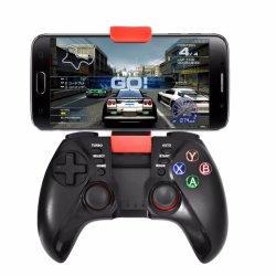 Vibration double téléphone mobile utiliser Bluetooth Gamepad type joystick avec clip