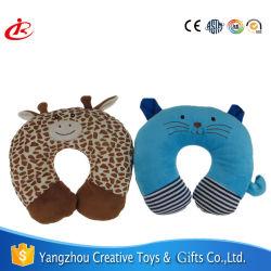 プラシ天のおもちゃの枕U形の枕動物の首の枕