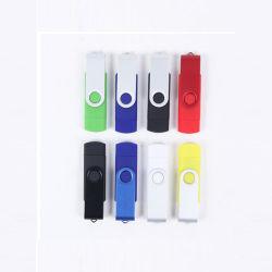 デュアル - Aluminum Mobile Phone Computer Creative Custom Logo USB を使用します