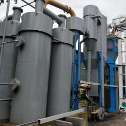 500kw high-technology ed il risparmio di energia e proteggono la produzione di energia di gassificazione della biomassa della buccia del riso dell'ambiente