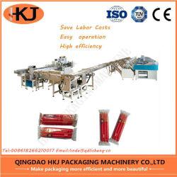 Bougie de haute qualité de l'emballage automatique avec 8 appareils de pesage de la machine