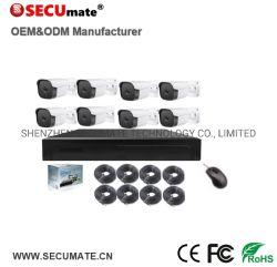 4K 8MP видеонаблюдения CCTV NVR установлен комплект фотокамеры