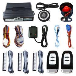 Автомобиль без ключа выключателя запуска двигателя запись тревожного сигнала с датчика вибрации при нажатии на кнопку пульта ДУ стартер остановки автоматической системы защиты от краж