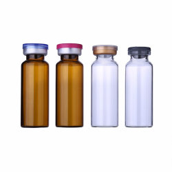 Geformte Einspritzung-Glasantibiotikum-Flaschen löschen