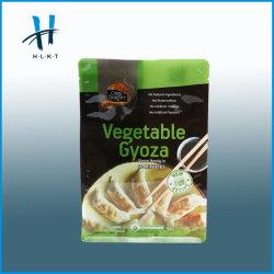 La chiusura lampo biodegradabile si leva in piedi in su il sacchetto di plastica di imballaggio per alimenti