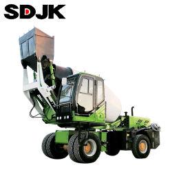 Jbc-35 3.5cbm 3500L 판매를 위한 힘 디젤 엔진으로 구체 믹서 트럭을 적재해 중국 저가 물 탱크 각자