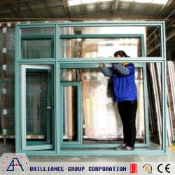 La vetratura doppia del blocco per grafici di alluminio e sceglie Windows di verniciatura ed i portelli