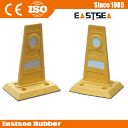 Traffic Safety Yellow Mini Route Barrière PU Produits