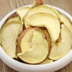 Commerce de gros de fruits secs Gel croustillant Apple Fruits déshydratés vide