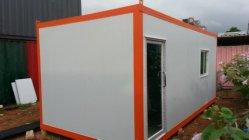 Kleines niedrige Kosten-Baugruppen-Behälter-Haus für Wache-Kasten