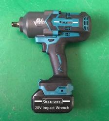 """20V 1/2"""" de 650 Nm de par alto/1000nm/1300nm eléctrico sin escobillas de llave de impacto M14-M30"""
