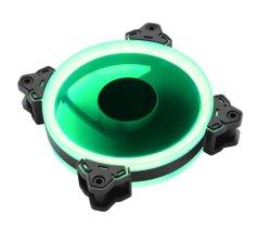 Segotep Ge-12 Duplo Verde anel luminoso Gabinete LED do ventilador ventoinha do computador em silêncio 120mm do ventilador de refrigeração