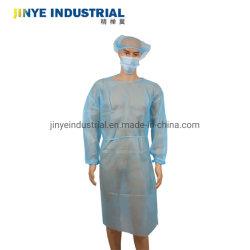 Isolamento Non-Woven descartáveis Beca vestido de isolamento cirúrgico protecção fabricado na China