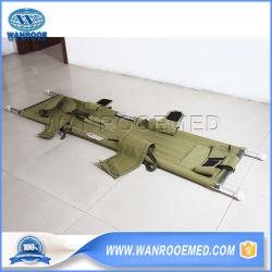 EA-1d8 Rescue Portable Aluminium militaire waterambulance flexibele bamboe stretcher