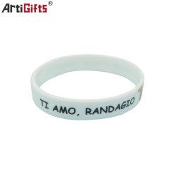 Мода OEM резиновую ленту браслет индивидуальные силиконовые браслеты