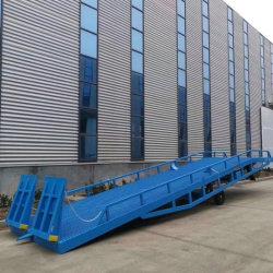 El borde de la Dock Dock Dock de carga hidráulica de plegado de la placa base del almacén almacén niveladores de la placa base Placa Base Muelle nivelador elevando Dock Dock móvil