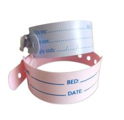 Krankenhauspatient-medizinisches erwachsenes BabyWristband Identifikation-Band-Kennzeichen-Armband