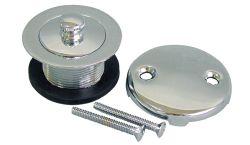 Levante y gire a la Trim Kits-Coarse hilo, el Zinc/placa de acero inoxidable