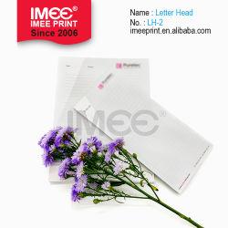 Perfil de la empresa mayorista Imee membrete en relieve el papel con membrete impresión
