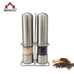 Светодиодный индикатор электрического соль и перец кофемолка перца мельница,
