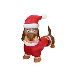 Рождество Санта Клаус надувные семейные подарки