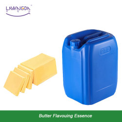 Le beurre de qualité alimentaire de l'arôme Lawangda Essence eau pétrole liquides solubles saveur comestibles emballées dans 25L Drum
