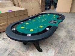 Nuevo diseño de juegos de casino la mesa de póquer de LED de Texas