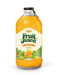 Alta Qualidade garrafa de vidro de 340 ml de suco de laranja bebida