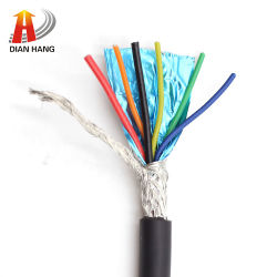 Cable coaxial eléctrico UL20276 Conexión Control aislado de cobre delgado Cable flexible HDMI eléctrico flexible de PVC Power Round personalizado