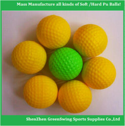Popular de alta calidad Nuevo diseño de una pelota de golf de PU