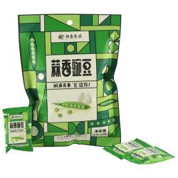 2020 Heißer Verkauf Konservengebäse Gebratener Knoblauch Grüne Erbsen Gesunde Snacks
