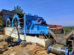 Sandwascher mit Entwässerungs-Bildschirm zum Verkauf