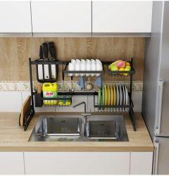 65cm Edelstahl-Wannen-Teller-trocknende Regal-Küche-Zubehör-Zahnstange