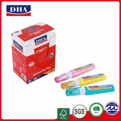 قلم تصحيح باللون الأزرق الأخضر لوّن في Office School في Correction السائل (DH-834)