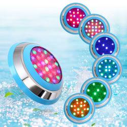 Venda quentes piscina montada na parede PI68 Luz de LED DE ABS