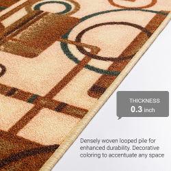 سجاد مريح ثلاثي الأبعاد من مادة PVC لأفضل سعر الغرفة