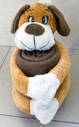 Детский флис Blankets-Cute Doggy коралловых Зал для занятий фитнесом