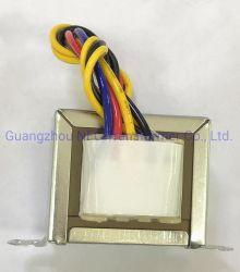 Ce de tipo Ei aprobado por UL/transformador de tensión de baja frecuencia de núcleo laminado soldado ningún ruido.
