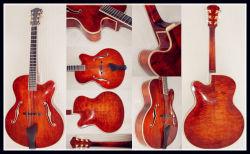 جيتار جاز صوتي مع خشب صلب (YZ-12A01)