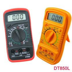 Dt850L/XL830L/Mas830L vermelho/amarelo do Multímetro Digital LCD voltímetro ohmímetro amperímetro AC/DC volts Medidor de Teste do LCD